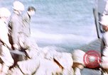 Image of Wounded US Marines on D-Day of Iwo Jima Iwo Jima, 1945, second 44 stock footage video 65675029319