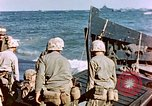 Image of Wounded US Marines on D-Day of Iwo Jima Iwo Jima, 1945, second 47 stock footage video 65675029319