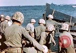 Image of Wounded US Marines on D-Day of Iwo Jima Iwo Jima, 1945, second 49 stock footage video 65675029319