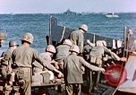 Image of Wounded US Marines on D-Day of Iwo Jima Iwo Jima, 1945, second 54 stock footage video 65675029319