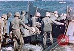 Image of Wounded US Marines on D-Day of Iwo Jima Iwo Jima, 1945, second 57 stock footage video 65675029319