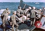 Image of Wounded US Marines on D-Day of Iwo Jima Iwo Jima, 1945, second 59 stock footage video 65675029319