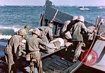 Image of Wounded US Marines on D-Day of Iwo Jima Iwo Jima, 1945, second 60 stock footage video 65675029319