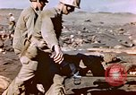 Image of Wounded US Marines on D-Day of Iwo Jima Iwo Jima, 1945, second 62 stock footage video 65675029319