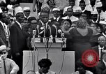 Image of Roy Wilkins Washington DC USA, 1963, second 28 stock footage video 65675029519