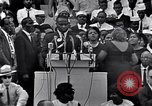 Image of Roy Wilkins Washington DC USA, 1963, second 35 stock footage video 65675029519