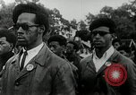 Image of Black Panther Party march and demonstration Oakland California USA, 1968, second 4 stock footage video 65675029943