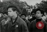 Image of Black Panther Party march and demonstration Oakland California USA, 1968, second 12 stock footage video 65675029943