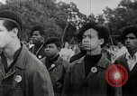 Image of Black Panther Party march and demonstration Oakland California USA, 1968, second 13 stock footage video 65675029943