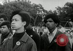 Image of Black Panther Party march and demonstration Oakland California USA, 1968, second 16 stock footage video 65675029943