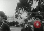 Image of Black Panther Party march and demonstration Oakland California USA, 1968, second 22 stock footage video 65675029943