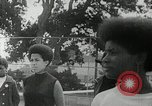 Image of Black Panther Party march and demonstration Oakland California USA, 1968, second 24 stock footage video 65675029943