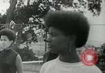 Image of Black Panther Party march and demonstration Oakland California USA, 1968, second 25 stock footage video 65675029943