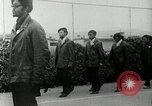 Image of Black Panther Party march and demonstration Oakland California USA, 1968, second 33 stock footage video 65675029943