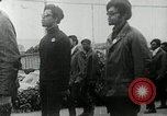 Image of Black Panther Party march and demonstration Oakland California USA, 1968, second 35 stock footage video 65675029943