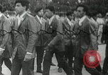 Image of Black Panther Party march and demonstration Oakland California USA, 1968, second 36 stock footage video 65675029943
