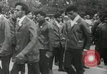 Image of Black Panther Party march and demonstration Oakland California USA, 1968, second 37 stock footage video 65675029943