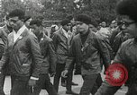 Image of Black Panther Party march and demonstration Oakland California USA, 1968, second 38 stock footage video 65675029943