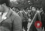 Image of Black Panther Party march and demonstration Oakland California USA, 1968, second 39 stock footage video 65675029943