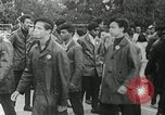 Image of Black Panther Party march and demonstration Oakland California USA, 1968, second 40 stock footage video 65675029943