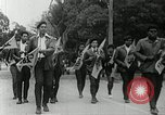 Image of Black Panther Party march and demonstration Oakland California USA, 1968, second 48 stock footage video 65675029943