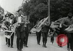 Image of Black Panther Party march and demonstration Oakland California USA, 1968, second 49 stock footage video 65675029943