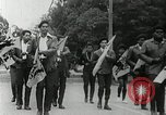 Image of Black Panther Party march and demonstration Oakland California USA, 1968, second 50 stock footage video 65675029943
