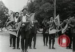 Image of Black Panther Party march and demonstration Oakland California USA, 1968, second 51 stock footage video 65675029943