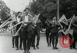 Image of Black Panther Party march and demonstration Oakland California USA, 1968, second 52 stock footage video 65675029943