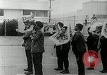 Image of Black Panther Party march and demonstration Oakland California USA, 1968, second 54 stock footage video 65675029943