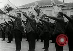 Image of Black Panther Party march and demonstration Oakland California USA, 1968, second 55 stock footage video 65675029943