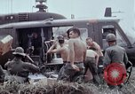 Image of unloading supplies Vietnam, 1968, second 24 stock footage video 65675030470