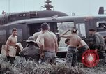 Image of unloading supplies Vietnam, 1968, second 30 stock footage video 65675030470