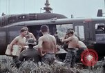 Image of unloading supplies Vietnam, 1968, second 31 stock footage video 65675030470