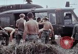 Image of unloading supplies Vietnam, 1968, second 39 stock footage video 65675030470