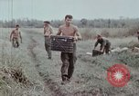 Image of unloading supplies Vietnam, 1968, second 41 stock footage video 65675030470