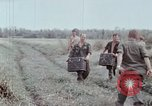 Image of unloading supplies Vietnam, 1968, second 49 stock footage video 65675030470