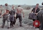 Image of unloading supplies Vietnam, 1968, second 54 stock footage video 65675030470