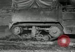 Image of half-track truck blending tank track and tires Akron Ohio USA, 1941, second 3 stock footage video 65675030484