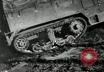 Image of half-track truck blending tank track and tires Akron Ohio USA, 1941, second 6 stock footage video 65675030484