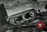 Image of half-track truck blending tank track and tires Akron Ohio USA, 1941, second 7 stock footage video 65675030484