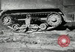 Image of half-track truck blending tank track and tires Akron Ohio USA, 1941, second 25 stock footage video 65675030484