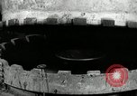 Image of tire vulcanization at Goodrich Rubber Company Akron Ohio USA, 1941, second 23 stock footage video 65675030486