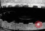 Image of tire vulcanization at Goodrich Rubber Company Akron Ohio USA, 1941, second 24 stock footage video 65675030486