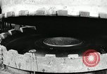 Image of tire vulcanization at Goodrich Rubber Company Akron Ohio USA, 1941, second 26 stock footage video 65675030486