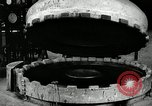 Image of tire vulcanization at Goodrich Rubber Company Akron Ohio USA, 1941, second 30 stock footage video 65675030486