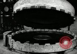 Image of tire vulcanization at Goodrich Rubber Company Akron Ohio USA, 1941, second 31 stock footage video 65675030486