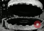 Image of tire vulcanization at Goodrich Rubber Company Akron Ohio USA, 1941, second 32 stock footage video 65675030486