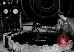 Image of tire vulcanization at Goodrich Rubber Company Akron Ohio USA, 1941, second 35 stock footage video 65675030486
