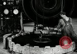 Image of tire vulcanization at Goodrich Rubber Company Akron Ohio USA, 1941, second 37 stock footage video 65675030486